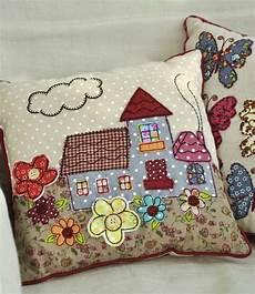 applique patchwork mini patchwork cottage cushion rex at dotcomgiftshop
