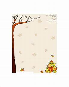 Autumn Stationery Free 14 Printable Stationery In Psd Vector Eps Ai