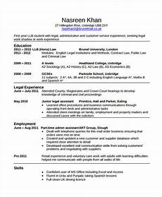 Cv Template For Work Experience 10 Law Curriculum Vitae Templates Pdf Doc Free