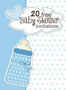 Free Invitations 18 Printable Baby Shower Invites