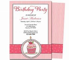 Birthday Party Program 13 Best Photos Of Printable Birthday Party Program