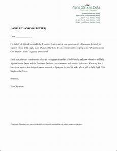 Thank You Letter For Donation Template Free 11 Donation Thank You Letter Samples Amp Templates In Pdf
