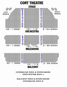 Cort Theater Seating Chart Cort Theatre Playbill
