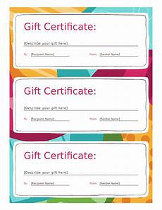 Gift Certificates Blanks 2020 Gift Certificate Form Fillable Printable Pdf