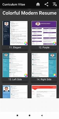 Easy Cv Maker Curriculum Vitae App Cv Builder Resume Cv Maker For