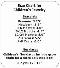 Child Necklace Length Chart Jewelry 101 Everything You Ever Wanted To Know Kids