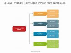 Flow Chart Powerpoint 3 Level Vertical Flow Chart Powerpoint Templates