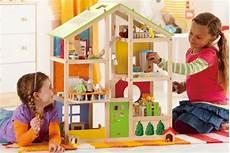 hape all seasons wooden dollhouse by award winning 3