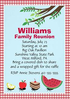 Family Reunion Flyers Templates 24 Picnic Invitation Template Psd Eps Ai Free