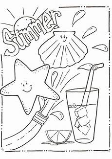 free printable summer coloring pages for