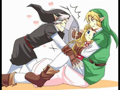 Dark Link X Zelda