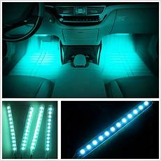 Best Led Footwell Lights Ice Blue Led Car Interior Charge Footwell Floor Decorative