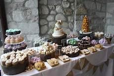wedding dessert table the cake box