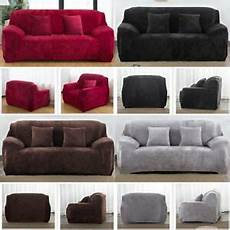 easy stretch thick plush sofa lounge covers recliner