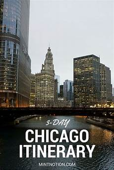 3 day chicago itinerary for first time visitors usa