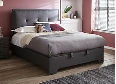 fabric upholstered ottoman bed frame in 2020 with