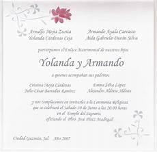 Invitaciones De Boda Ejemplos Textos De Invitaciones De Boda Imagui Plantillas Para
