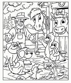 Bauernhoftiere Ausmalbilder Ausmalbilder Bauernhof Ausmalbilder