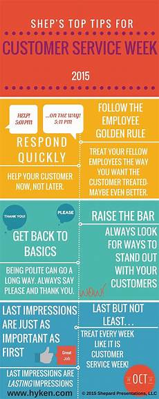 What Customer Service Experience Do You Have Top Tips For Customer Service Week Infographic