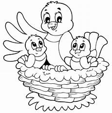 Schule Und Familie Ausmalbilder Ostern Kostenlose Malvorlage Ostern Vogelnest Mit Zwei K 252 Ken Zum
