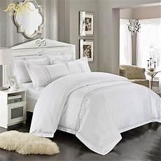 romorus wholesale hotel bedding set white king size