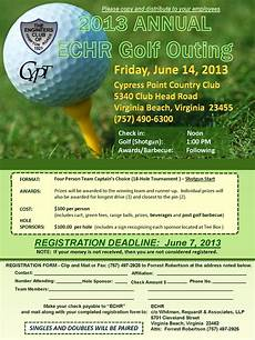 Golf Outing Flyers 2013 Annual Echr Golf Outing Golf Outing Flyer Template