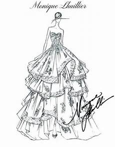 Dress Designing Sketches Fashion Design Sketches By World S Top Fashion Designers