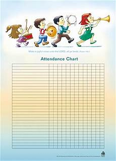 Images Of Attendance Chart Music Children S Attendance Chart My Healthy Church 174