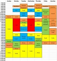 College Scheduler Creating A Work School Balance A College Student
