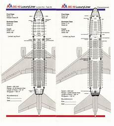 American Airlines 747 Seating Chart Airlines Past Amp Present American Airlines Seating Guide