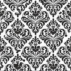 Free Damask Background Black Damask Wallpaper White Photo Studio Background Vinyl
