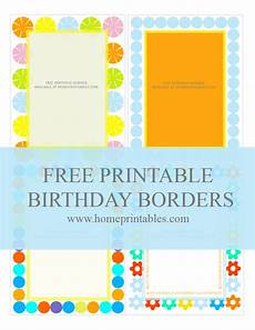 Printable Party Designs Fun Designs Free Birthday Borders For Invitations Home