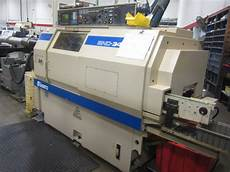 Cnc Lathes Miyano Bnd 42s 2 Upgraded From 34mm Fanuc