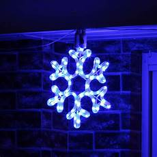 Christmas Rope Light Design Ideas Led Snowflake Rope Light Outdoor Connectable Christmas