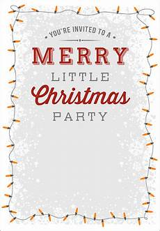 Printable Christmas Party Invitations Free Templates 25 Printable Christmas Invitation Templates In