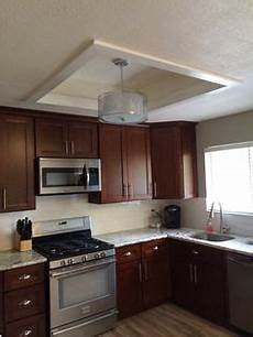 Converting Fluorescent Kitchen Lights Convert That Ugly Recessed Fluorescent Ceiling Lighting