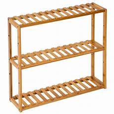 scaffale per bagno scaffale in legno espositore libreria mensole bamboo bagno