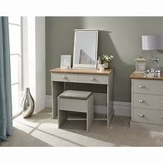 kendal dressing table with stool grey brixton beds