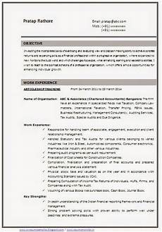 What Career Objective To Be Write In Cv 100 Cv Templates Sample Template Example Of Beautiful
