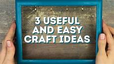 3 useful and easy craft ideas l 5 minute crafts