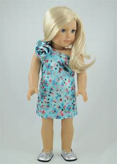 clothes for dolls 4th of july print dress american made doll clothes for 18