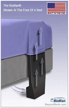 bedfan original patented black model at beyondbeds