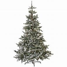 Martha Stewart Living Christmas Tree Lights Martha Stewart Living 7 5 Ft Indoor Pre Lit Snowy