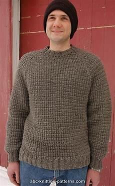 knitting men abc knitting patterns s raglan woodsman sweater free