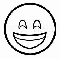 how to draw happy emoji step by step symbols pop