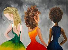 hair art learn to paint hair in acrylic paint for beginning artists