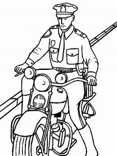 officer coloring pages clipart panda free