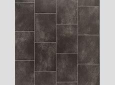 Black Slate Tile Effect Vinyl Flooring 4 m²   Departments   DIY at B&Q