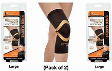 copper fit pro series compression knee sleeve copper fit pro series performance compression knee sleeve