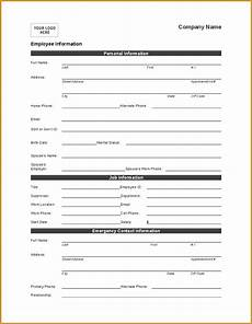 Personal Information Form For Students 12 Personal Information Form Template Jumbocover Info